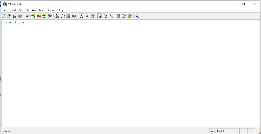 文字编辑程序(About editor2)截图1