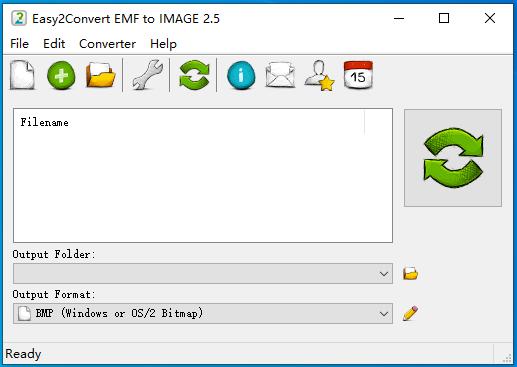 emf转jpg(Easy2Convert EMF to IMAGE)截图1