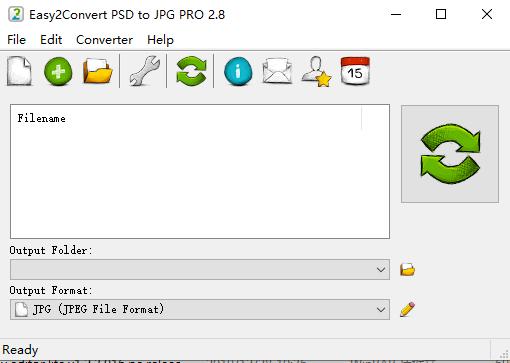 批量psd转.jpg,.jpeg,.jpe,.jif格式(Easy2Convert PSD to JPG PRO)截图0
