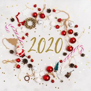 2020年创意数字海报壁纸素材通用免费版