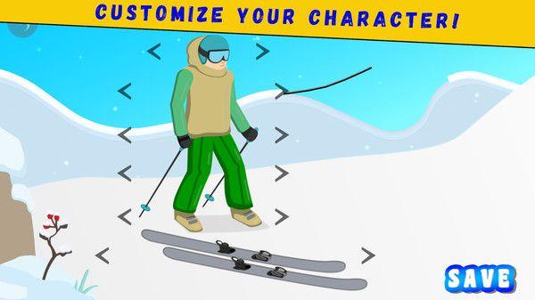 滑雪派对手游截图