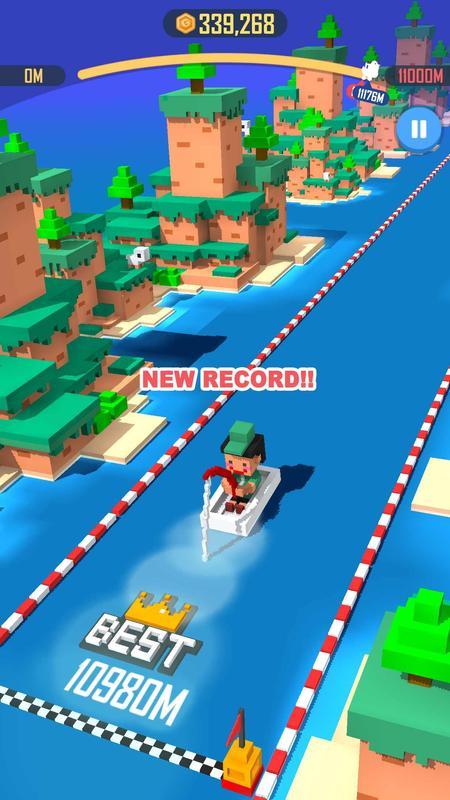 跳跃骑士疯狂的船(Jump Rider Crazy Boat)截图