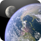 earth&moon动态壁纸
