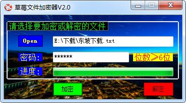草莓文件加密器截�D0