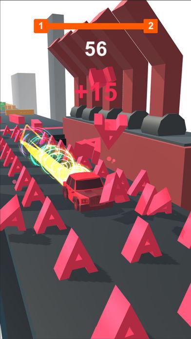 抖音汽车打砖块游戏截图