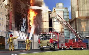 3d消防车救火游戏_模拟消防车灭火游戏