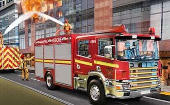 消防车游戏大全_真实消防车模拟驾驶游戏