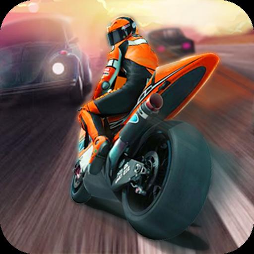 公路赛?#30340;?#25176;骑手(Traffic Racing Motor Rider)
