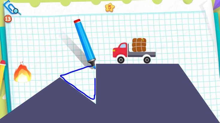 物理IQ卡车游戏截图