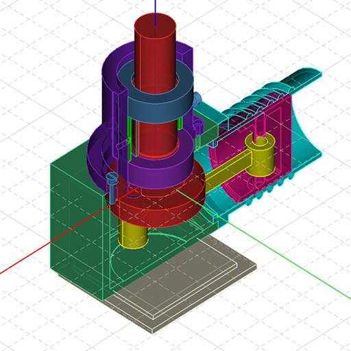 CAD建模�app