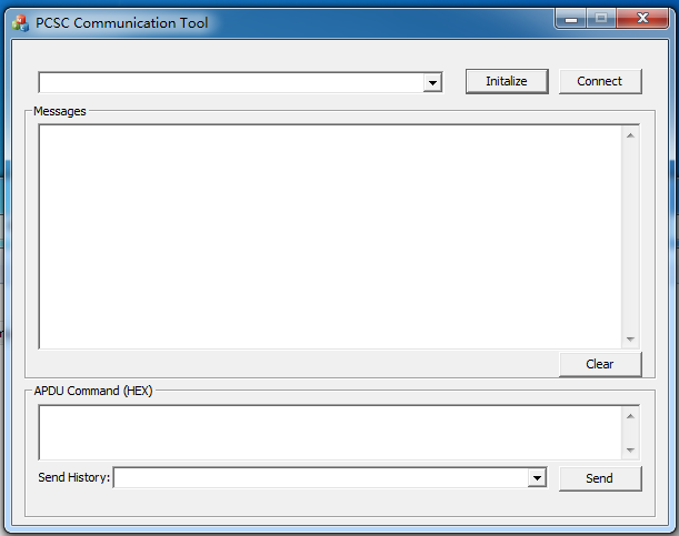 PCSC 通信工具截图0