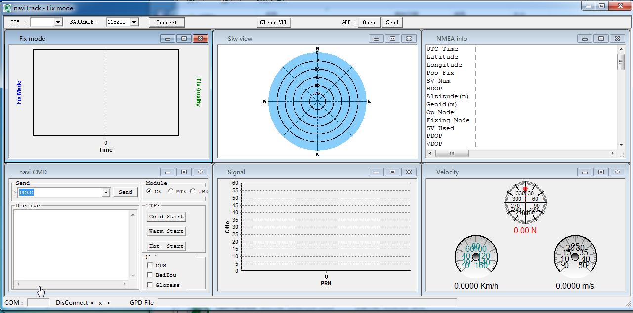 naviTrack(GNSS工具)截图0