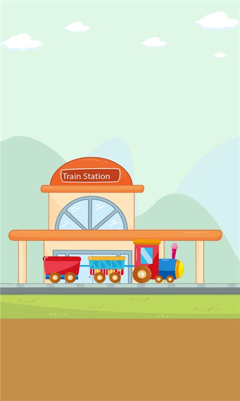 儿童模拟小火车游戏截图