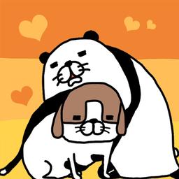 熊猫与狗狗一直超可爱1.0.2 安卓版