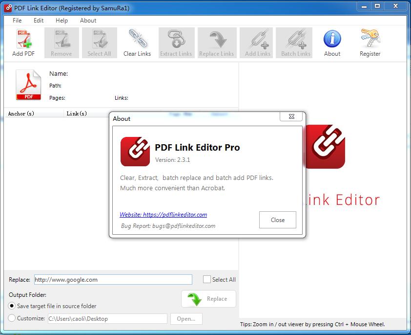 PDF Link Editor Pro(pdf链接编辑器)截图1