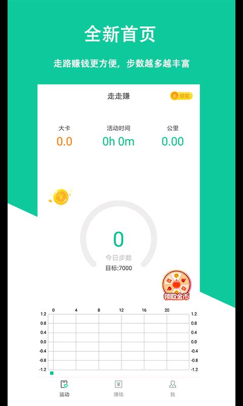 走走app(走路赚钱)截图