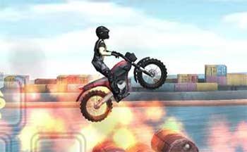 摩托车翘头游戏大全_翘头特技摩托车挑战