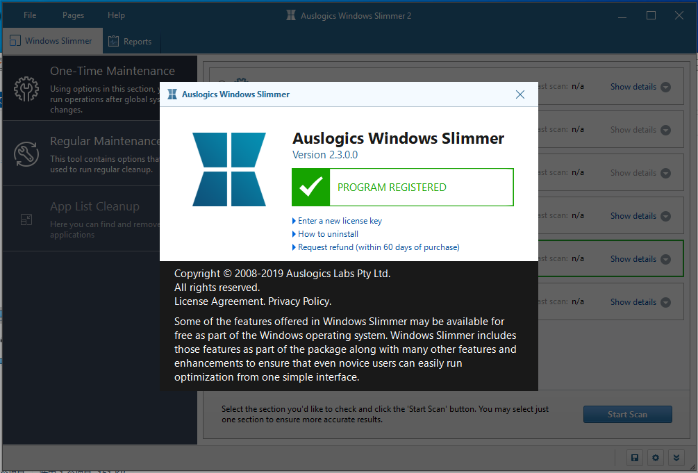系�y�p肥工具(Auslogics Windows Slimmer)截�D0