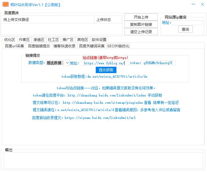 新站枫叶SEO助手截图0