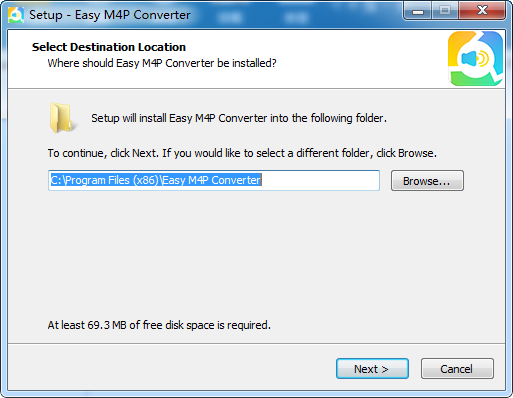 Easy M4P Converter(M4P转MP3工具)截图0
