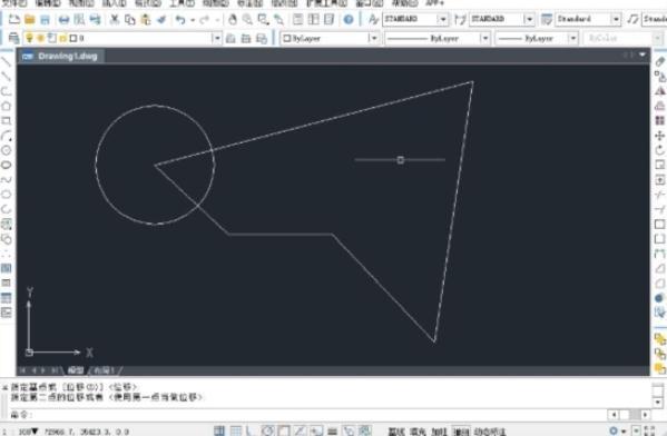 中望CAD2021��I版截�D1