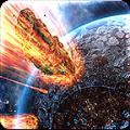 高清流星撞地球壁�app