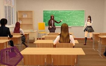 高中校园模拟游戏