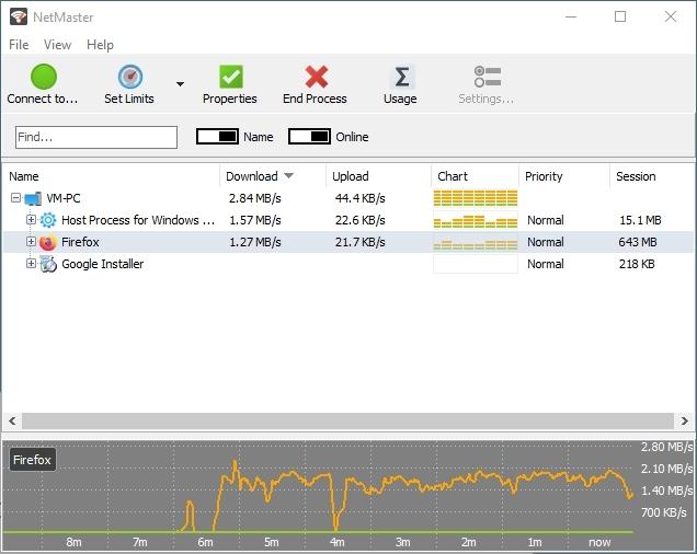 网络监控软件(SoftPerfect NetMaster)截图0