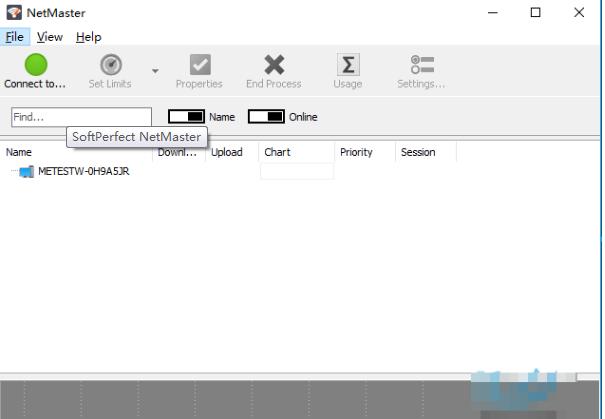 网络监控软件(SoftPerfect NetMaster)截图1
