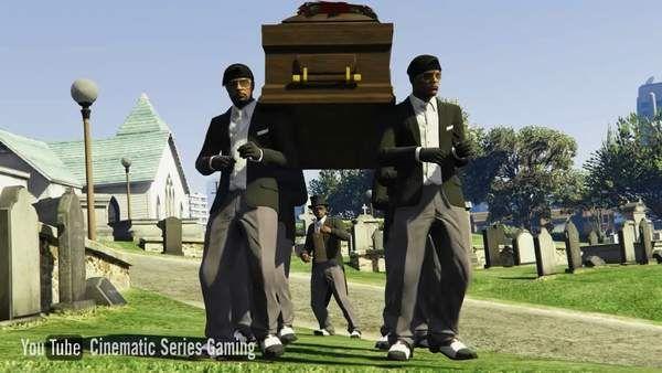黑人抬棺专业团队高清图片大全截图1