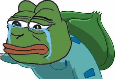 悲伤蛙表情包动图 悲伤蛙表情包原图