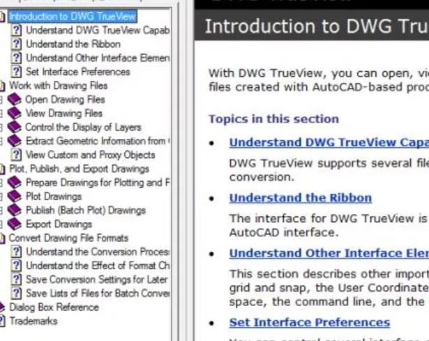 Autodesk DWG Trueview2021破解版截图0