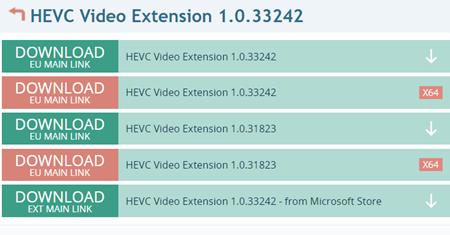 微软HEVC(H265)解码扩展免费版截图2
