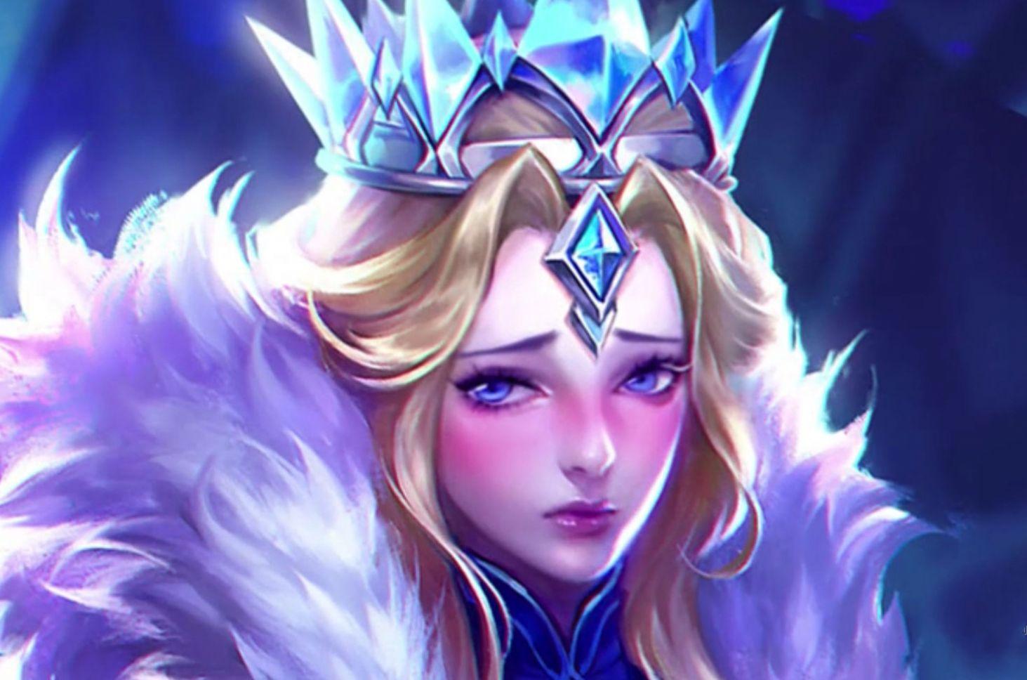 王者荣耀女英雄翻白眼流口水脸红表情头像截图2