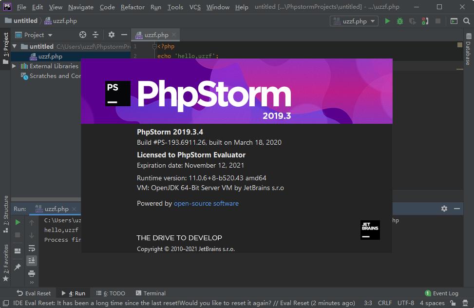 JetBrains PhpStorm 2019免费版截图1