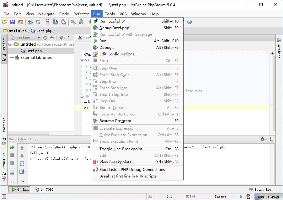 JetBrains PhpStorm 5.0.4官方免费版截图2