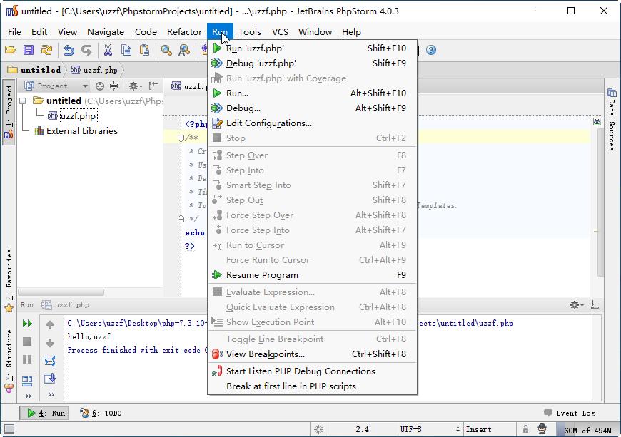JetBrains PhpStorm 4.0.3官方版截图2