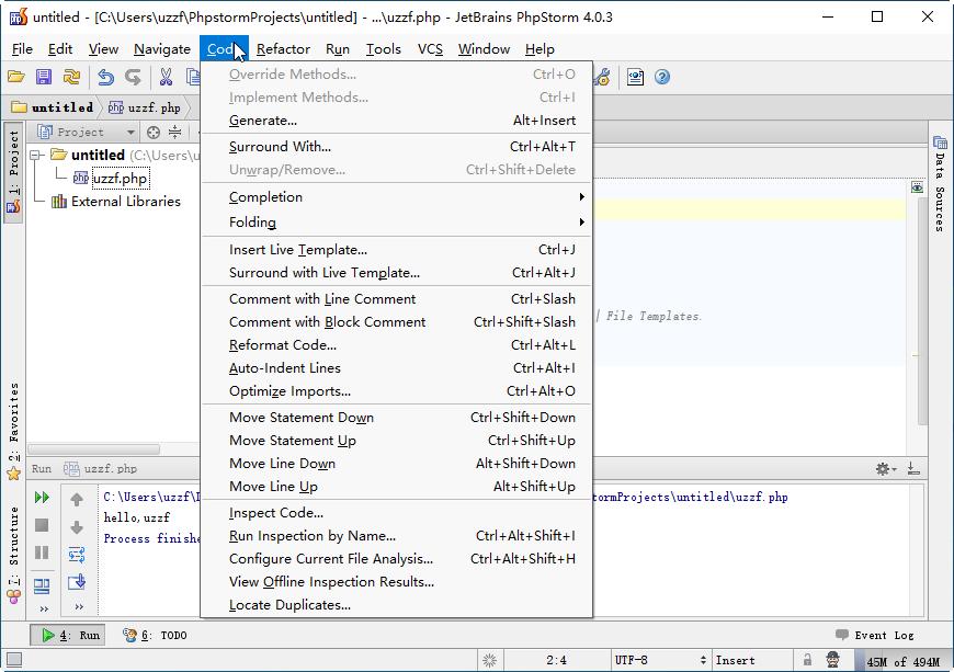 JetBrains PhpStorm 4.0.3官方版截图3