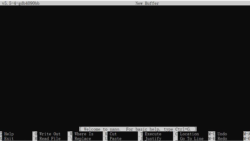 nano编辑器windows移植版截图2