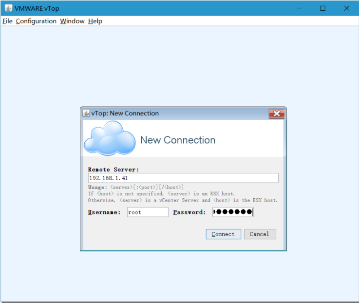VisualEsxtop(VMware性能监视器)截图0