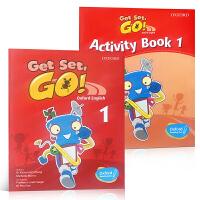 牛津幼儿英语教材Get Set Go全三册PDF+MP3音频