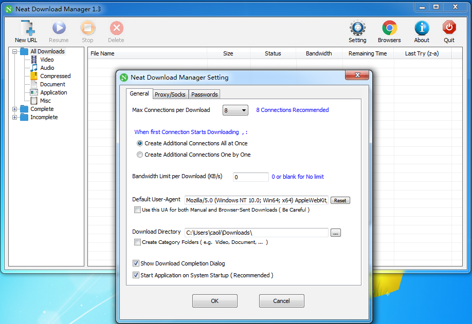 Neat Download Manager 软件截图1