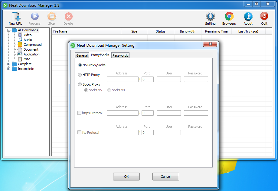 Neat Download Manager 软件截图0