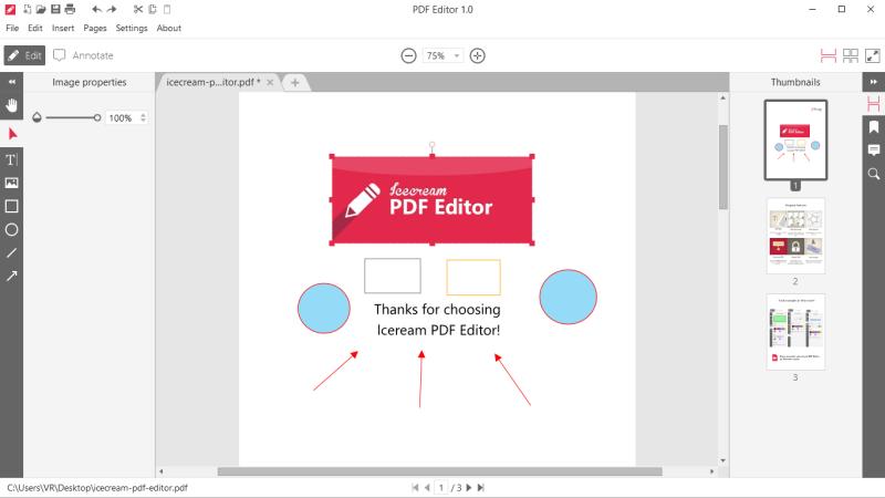 飞思pdf编辑器电脑版截图1