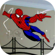 蜘蛛�b�K�O地�F跑酷手�C版1.0 �h化版