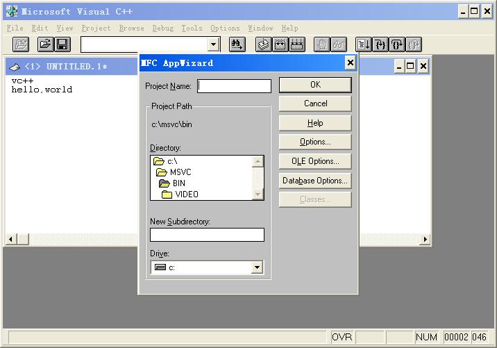 microsoft visual c++ 1.52(xp系统可运行)截图3
