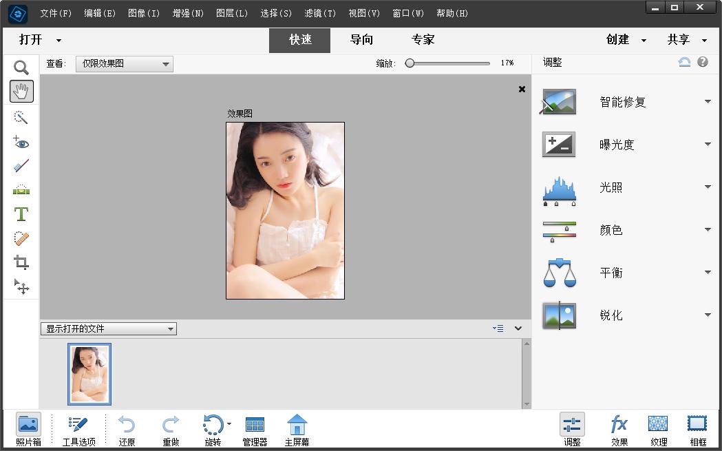Photoshop Elements 2022中文破解版截图0