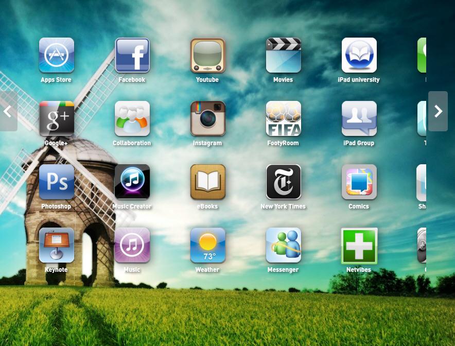 iPad手机模拟器截图0